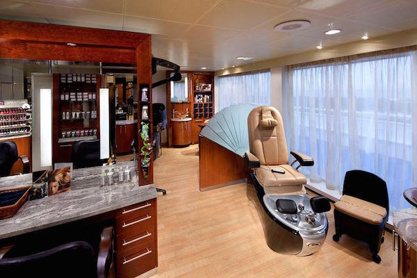 Canyon Ranch Spa on Seven Seas Explorer
