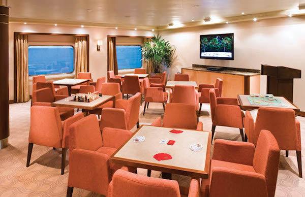 Card Room on Seven Seas Explorer