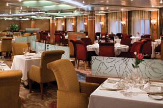 Compass Rose Restaurant on Seven Seas Navigator