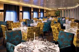 Signatures Restaurant on Seven Seas Voyager