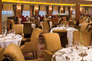 Compass Rose Restaurant on Seven Seas Voyager