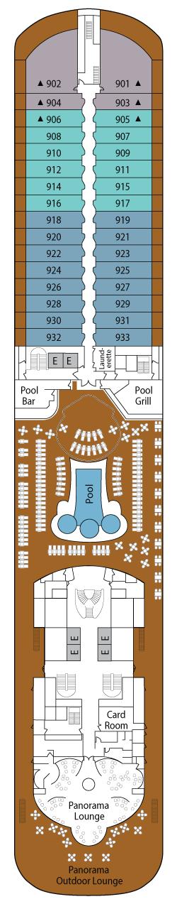silver spirit deck plan pdf