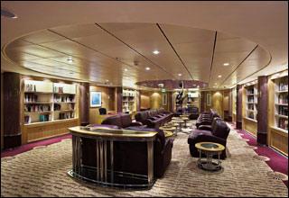 Library on Splendour of the Seas