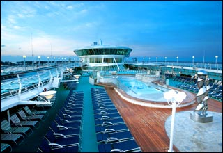 Swimming Pools on Splendour of the Seas