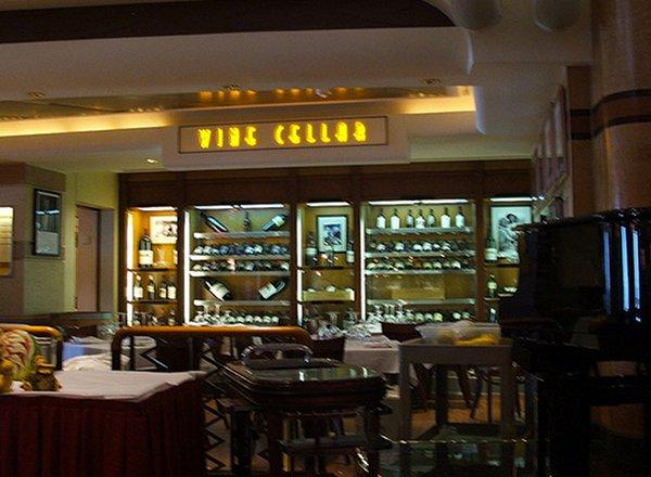 Wine Cellar on Star Princess