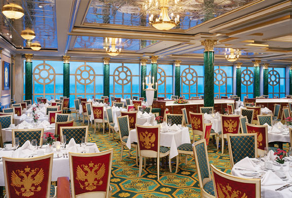 The Garden Main Dining Room on Star Princess