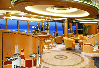 Champagne Bar on Vision of the Seas