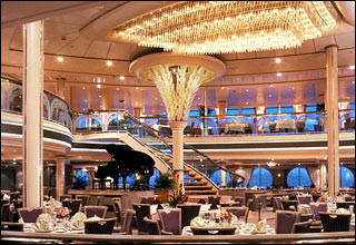 Main Dining Room on Vision of the Seas