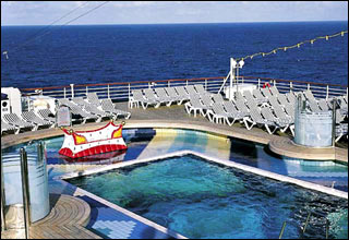 Aft Pool on Westerdam