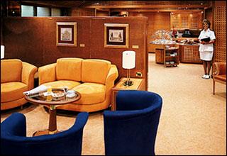 Neptune Lounge on Zaandam