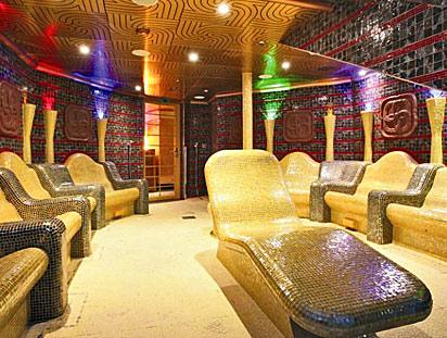 Thermal Suites on Zaandam