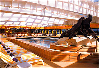 Lido Deck on Zaandam