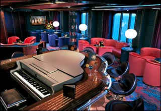 Piano Bar on Zuiderdam