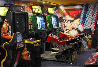 Video Arcade on Zuiderdam