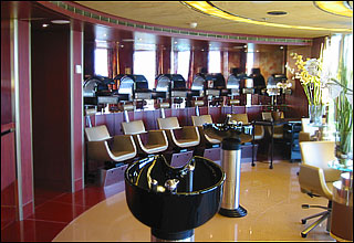 Beauty Salon on Zuiderdam