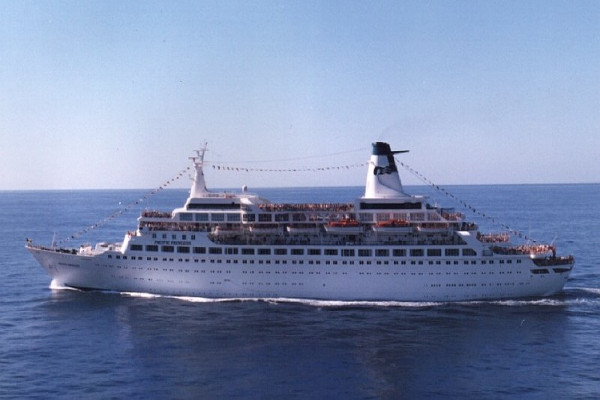 Pacific Princess Retired